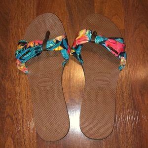 Havainas You Saint Tropez Sandals - Size 39/40